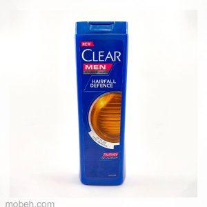 شامپو ضد شوره کلییر ویژه آقایان تقویت کننده مو مدل Hairfall Defense حجم 400 میلی لیتر